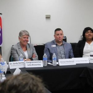 Brownley Meeting With Ventura County LGBTQ+ Community