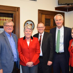 Brownley Meets With Leaders from the Ventura County Community College District