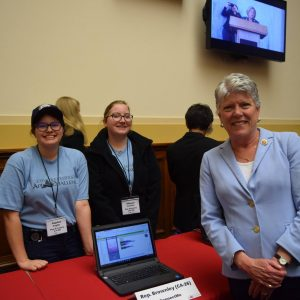 Brownley Meets with Congressional App Challenge Winners