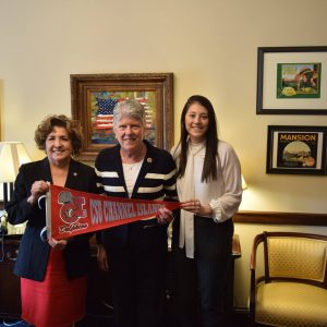 Brownley Meets with Representatives from CSU Channel Islands