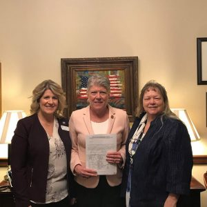 Brownley Meets with Superintendent of the Hueneme Elementary School District, Dr. Christine Walker, along with Board Member Darlene Bruno