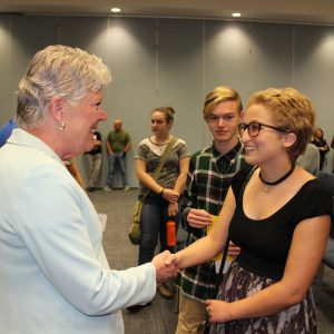 Brownley Hears from Students at Gun Safety Town Hall