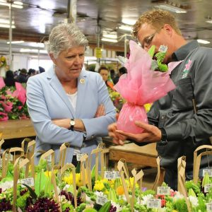 Brownley Tours Sun Valley Floral Farms's Facility in Oxnard