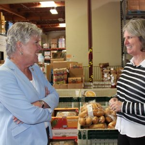 Brownley Tours Local Food Bank Food Share of Ventura County