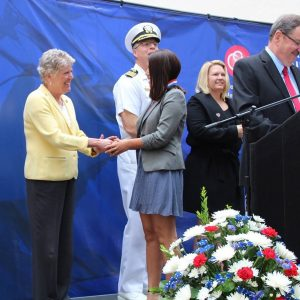 Brownley Speaks at CSU Channel Islands Student Veteran Medallion Ceremony