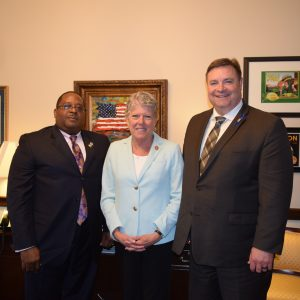 Brownley Meets with Peace Officers Research Association of California (PORAC)