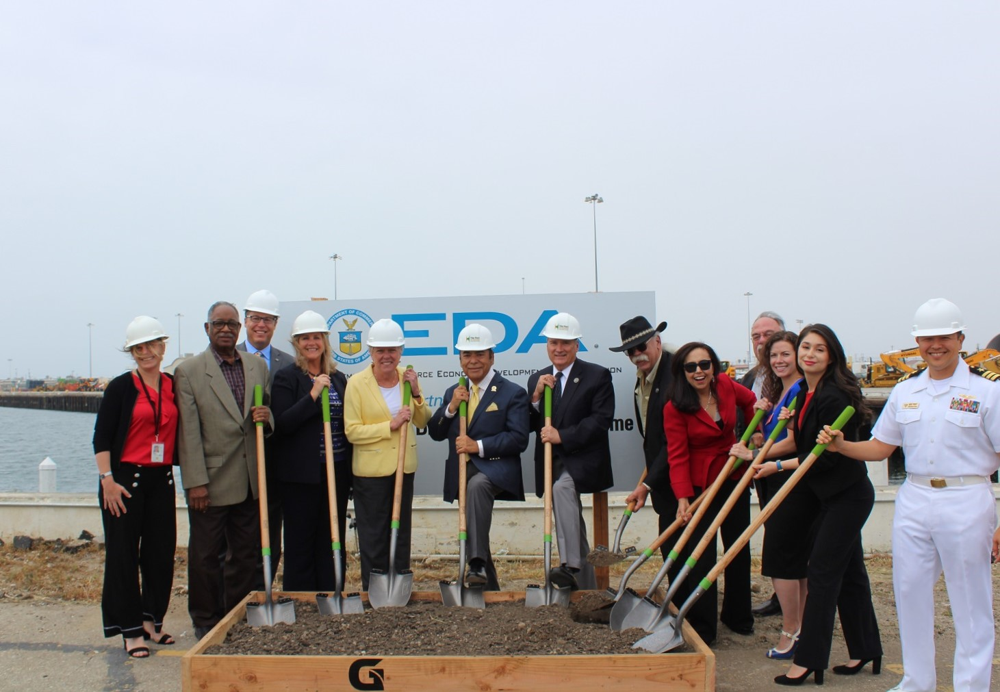 Port of Hueneme Groundbreaking