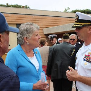Brownley Attends Local Memorial Day Services