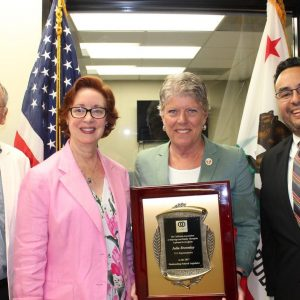 Brownley Receive the Legislator of the Year Award from the CAMFT: California Association of Marriage and Family Therapists.
