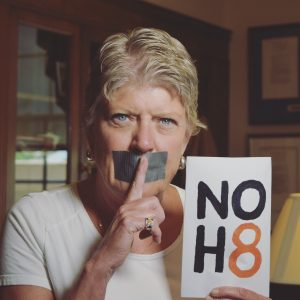 Brownley Supports NOH8 Campaign