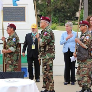 Brownley Welcomes the Moving Wall to Ventura County