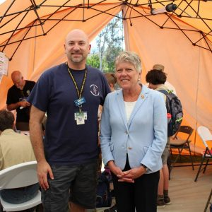 Brownley Attends Conejo Valley Amateur Radio Club's annual Radio Operating Field Day
