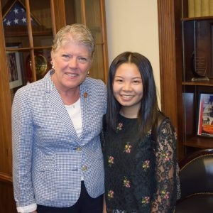 Brownley Meets with Congressional Art Competition Winner