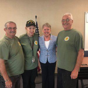 Brownley Meets with Veteran Collaborative of Ventura County