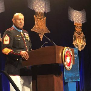 Brownley Attends Hall of Heroes Induction Ceremony for Sergeant Major John Canley