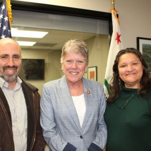 Brownley Meets with Central Coast Alliance United for a Sustainable Economy (CAUSE)