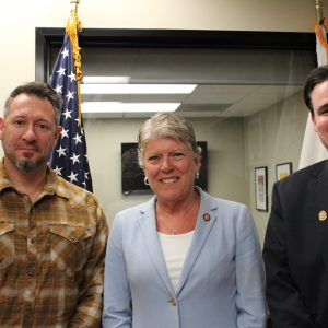 Brownley Meets with Santa Paula Mayor Clint Garman and City Manager Michael Rock