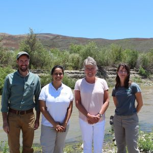 Brownley Tours the Santa Clara River with The Nature Conservancy